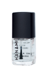 Top and Base Coat Clear Nail Polish (15ml) by Hanami Cosmetics - Vegan Style