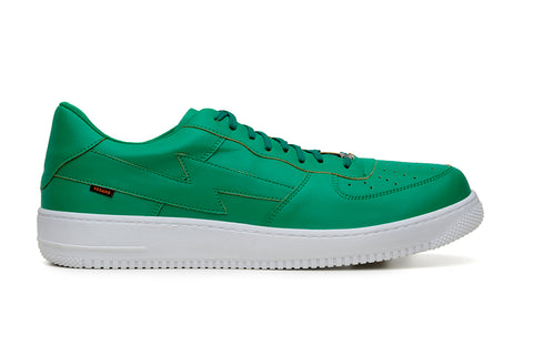 'Paramount' Vegan Low-Top Sneaker by King55 - Emerald