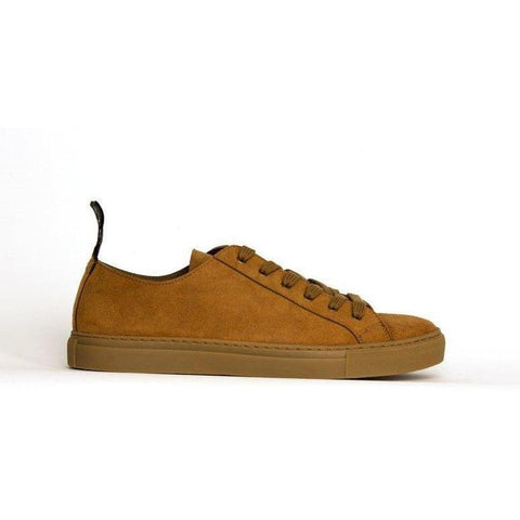 'Samo' vegan sneakers by Good Guys - mustard