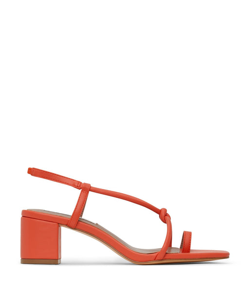 'Amavi' women's vegan heels by Matt and Nat - orange