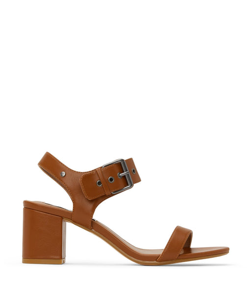 'Elysa' women's vegan sandal by Matt and Nat - chili