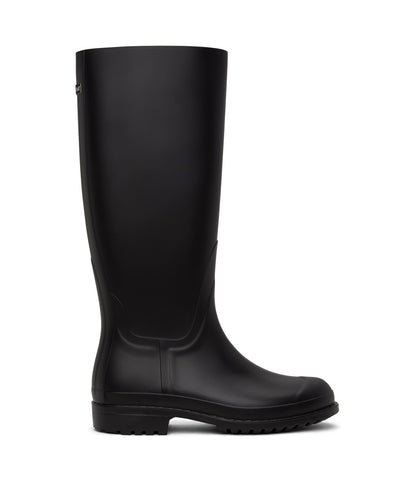 'Otoki' Vegan Chelsea Waterproof Rain Boots by Matt and Nat - Black