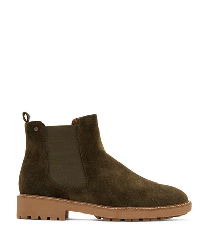 'Tokio' Women's Vegan Chelsea Boot by Matt and Nat - Olive