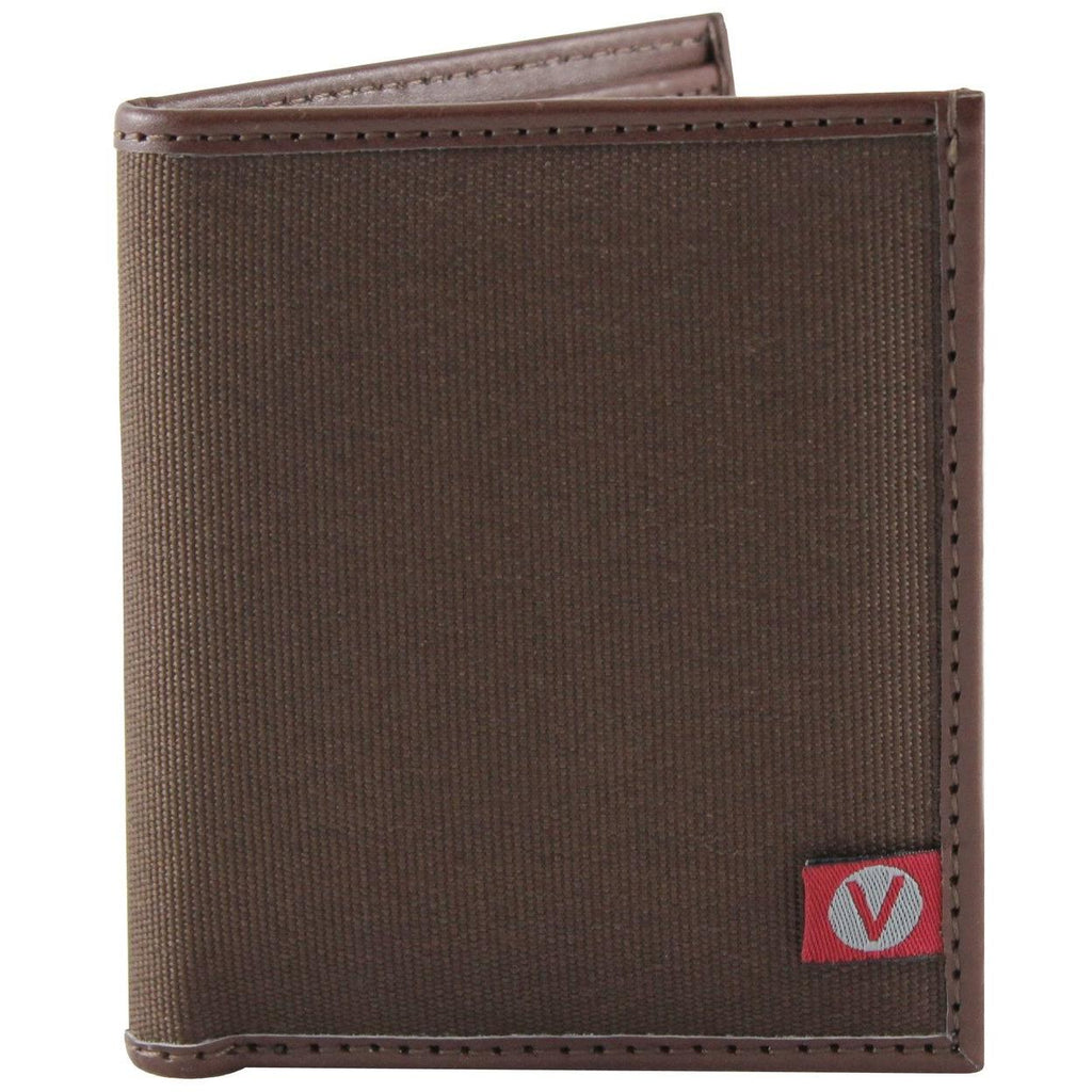 'The Lester' Bi-Fold Vegan Wallet (Brown) by The Vegan Collection