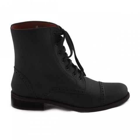 NAE 'Alba' vegan ankle boot - black