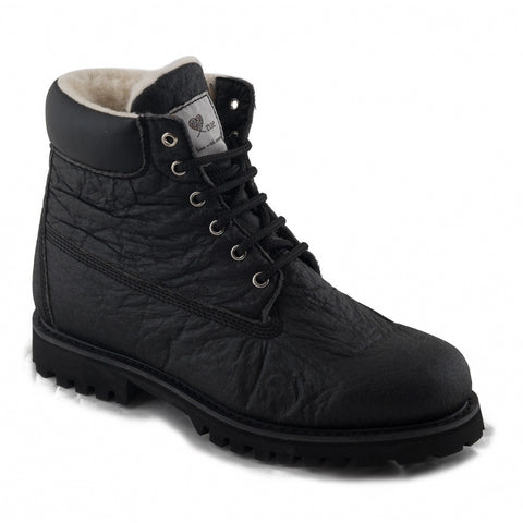 Etna by NAE (black pinatex boot)