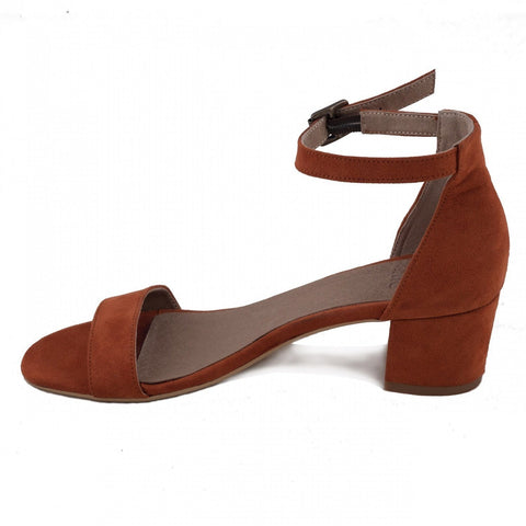 'Irene' Women's vegan low-heeled by NAE - orange