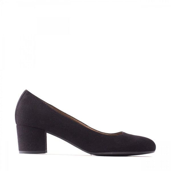 'Lina' women's block heel by NAE  - black