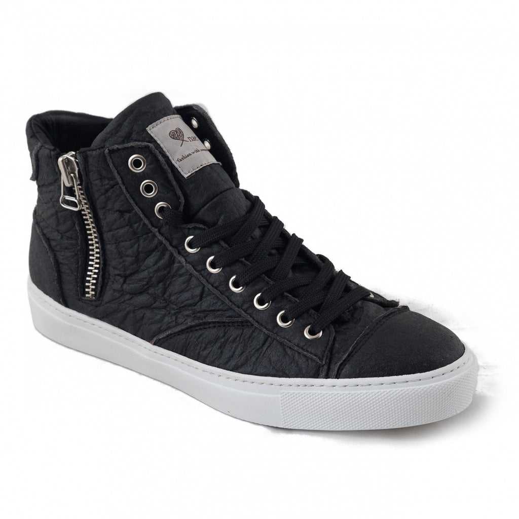 NAE 'Milan' Piñatex sneakers - black