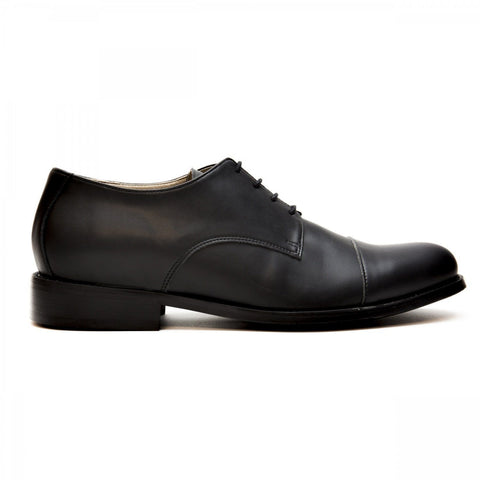 'New BCN' men's vegan Oxford by NAE - black