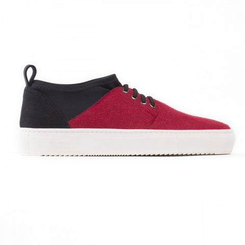 "NAE - Vegan ""Re-pet"" Sneakers (Red recycled bottles)"