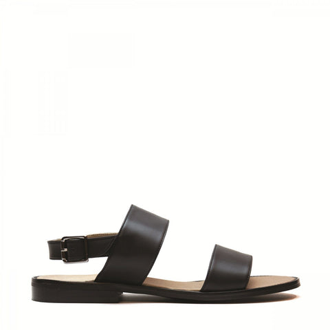'Vale' men's vegan sandals ethically made by NAE - black