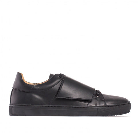 'Zero' - men's ethical vegan sneakers by NAE in black
