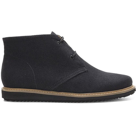 Ahimsa Shoes - Vegan 'Francisca' Chukka Boot - Black
