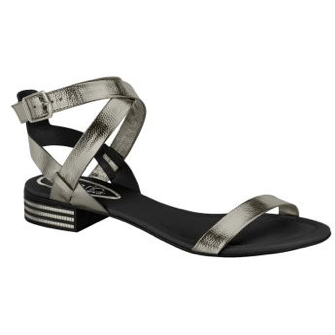 Beira Rio vegan sandals - graphite
