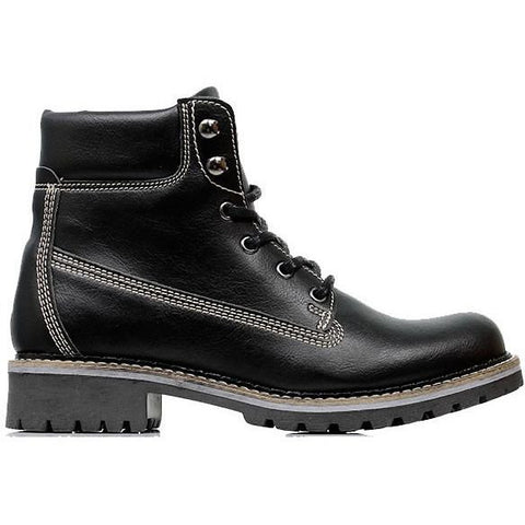 Will's London - Dock Boots (Black) - Vegan Style