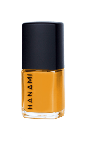 'Beams' Bright Yellow Nail Polish (15ml) by Hanami Cosmetics