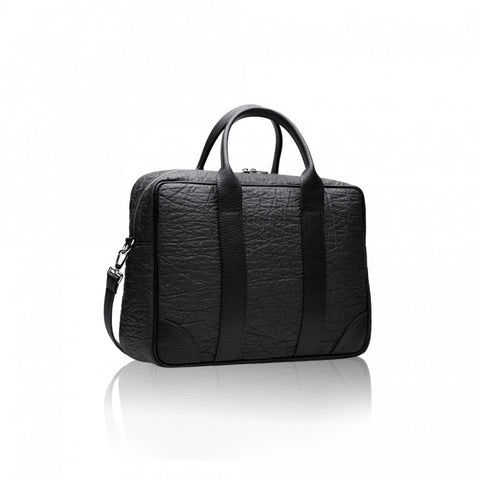 Alexandra K - Vegan Laptop Briefcase Pinatex (Blackberry) - Vegan Style
