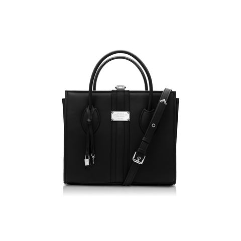 Maxi  vegan handbag 1.6 by Alexandra K - blackberry