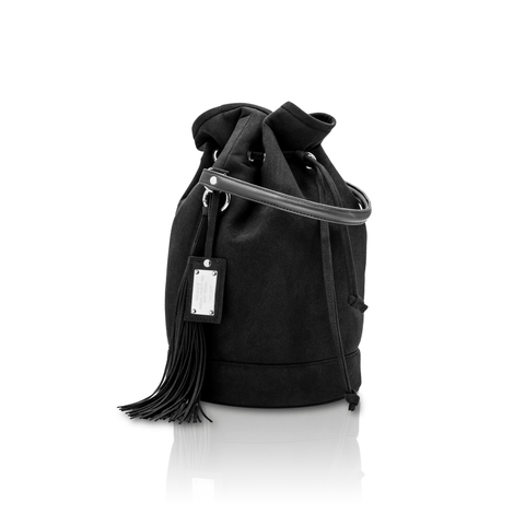 Vegan bucket-bag 2.5 by Alexandra K - Blackberry