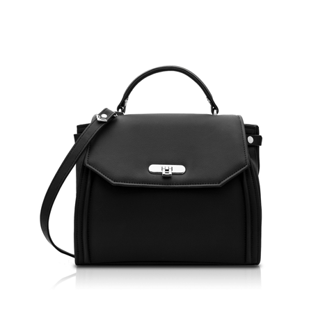 'Sophie' vegan handbag by Alexandra K - black