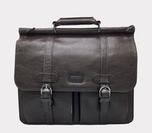 'Moby' vegan briefcase by GUNAS - brown