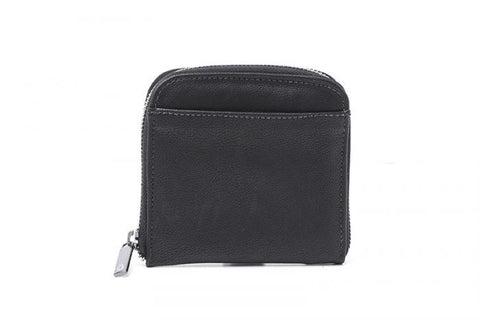 'Lauretta' vegan wallet for women by Ahimsa - black
