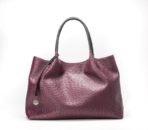 'Naomi'  vegan handbag by GUNAS - cherry