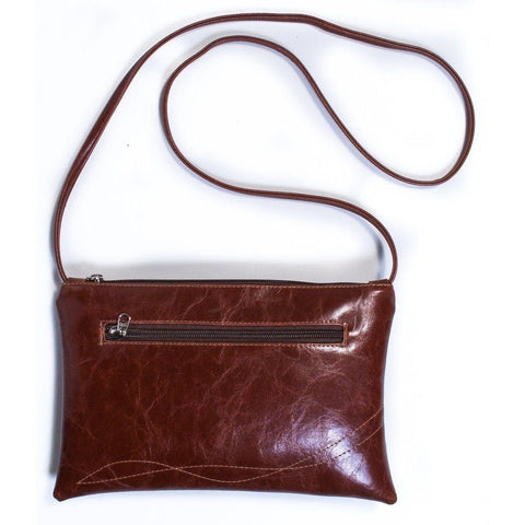Crystalyn Kae - Bossa Nova Medium Crossbody Bag (Ale Brown)
