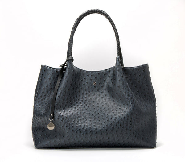 'Naomi'  vegan handbag by GUNAS - dark grey