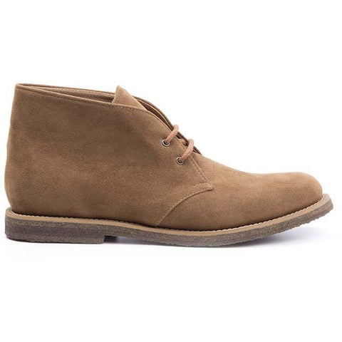 Ahimsa Men's desert boots - brown