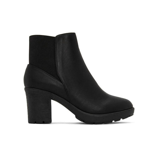 'Montroyal' women's vegan bootie by Matt and Nat - black