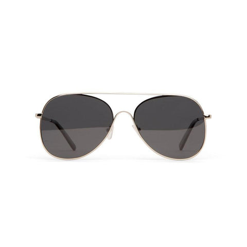 Kai aviator sunglasses by Matt and Nat - silver