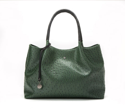 'Naomi'  vegan handbag by GUNAS - dark green