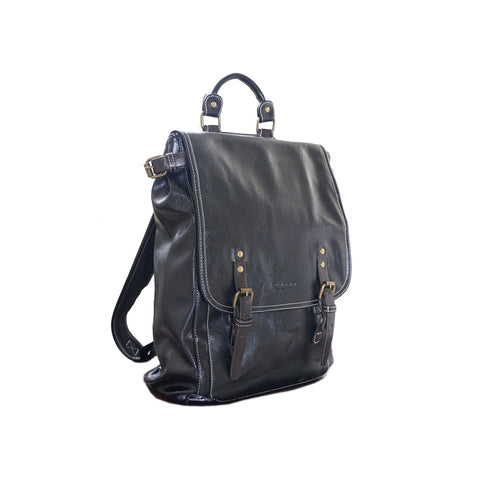 'Imari' vegan-leather backpack by Tokyo Bags