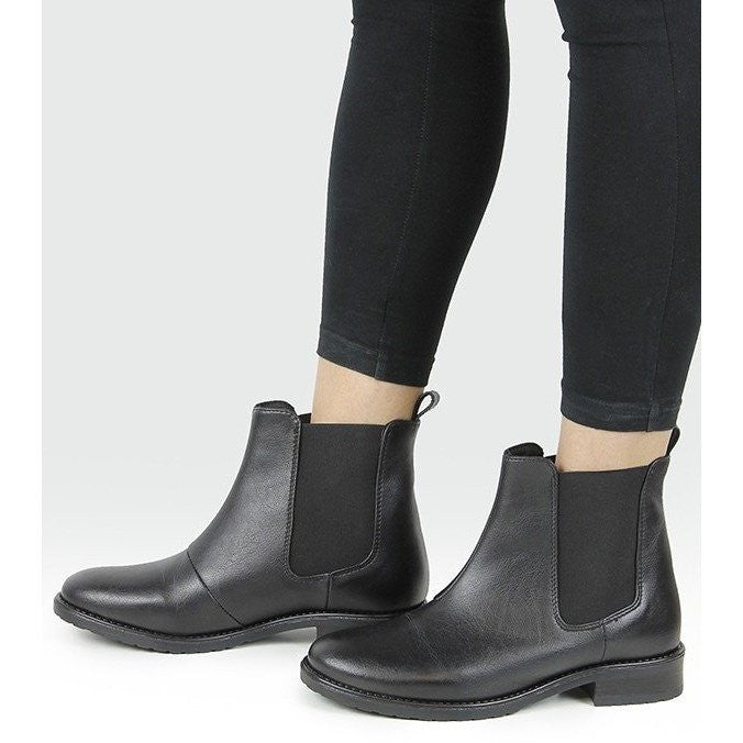 Will's Vegan Shoes - Women's Chelsea boot (black) - Vegan Style