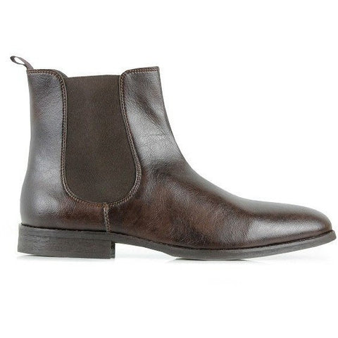 Will's Vegan Shoes - Chelsea Boots (Brown) - Vegan Style