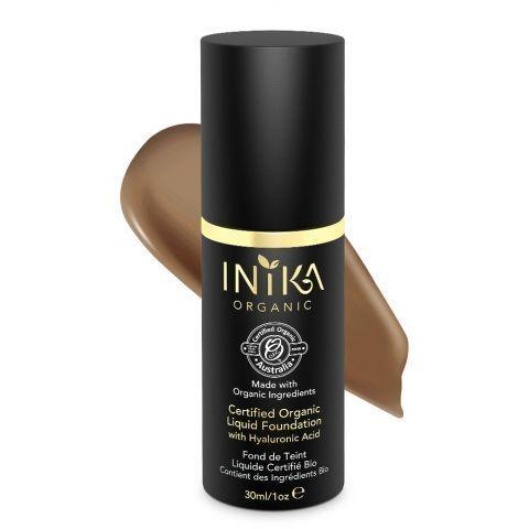 Liquid Mineral Foundation (Toffee) By Inika - Vegan Style