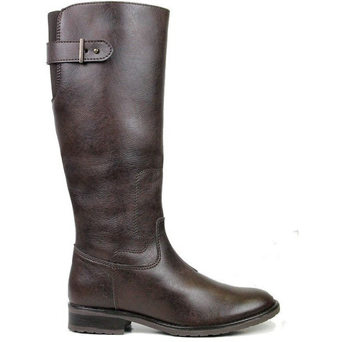 Will's Vegan Shoes - Women's knee-high boot (brown) - Vegan Style