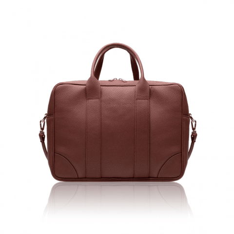 Alexandra K - Vegan Laptop Briefcase (Bark) - Vegan Style