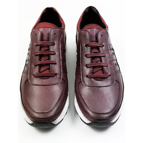 Will's London - LA Trainers (Burgundy) - Vegan Style