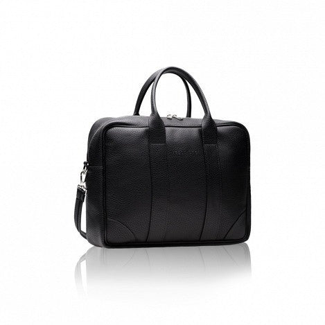 Alexandra K - Vegan Laptop Briefcase (Blackberry) - Vegan Style
