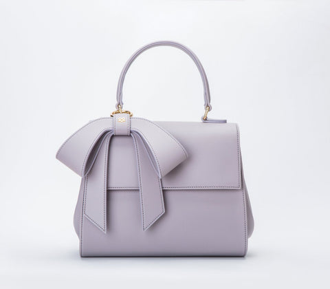 Cottontail vegan handbag by GUNAS - lavendar