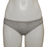 Women's Fair Trade Bikini Brief (Grey) by Etiko - Vegan Style