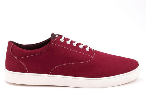 The Wave - Canvas sneaker from Ahimsa - red