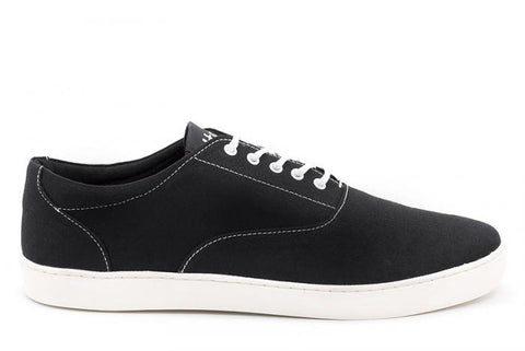 The Wave - Canvas sneaker from Ahimsa - black