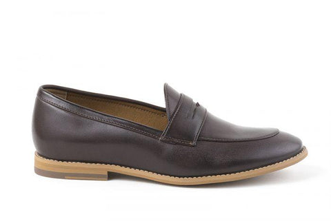 'Irene' Women's Vegan Loafers By Ahimsa - brown