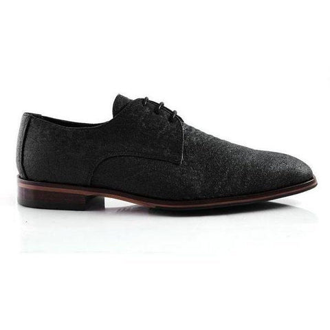 'Chris' Oxfords (Black Pinatex) by Bourgeois Boheme
