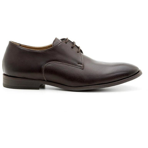 Ahimsa Men's vegan shoes - espresso