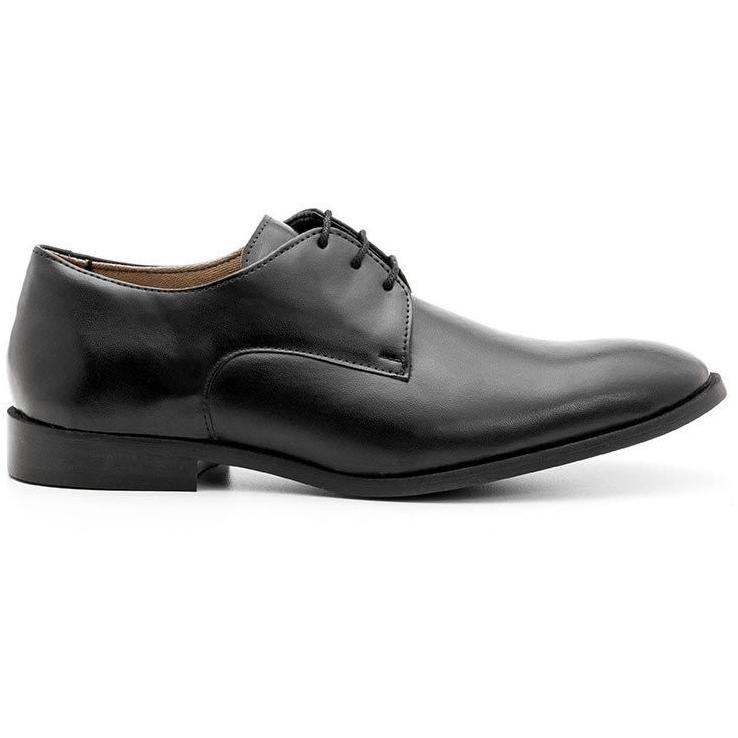 Ahimsa Men's vegan shoes - black